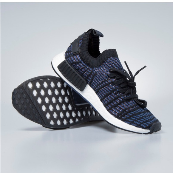 info for b2abd 4c89b adidas Shoes - Women s adidas NMD R1 STLT PINK AND BLUE